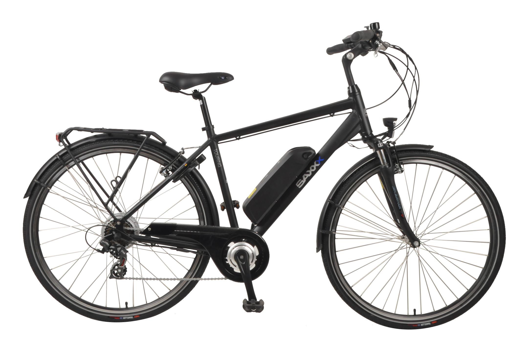 SAXXX Touring E-Bike schwarz matt für unschlagbare 745,70€ inkl. Versand!